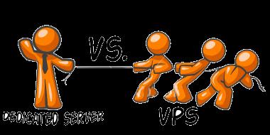سرور مجازی در مقابل سرور اختصاصی