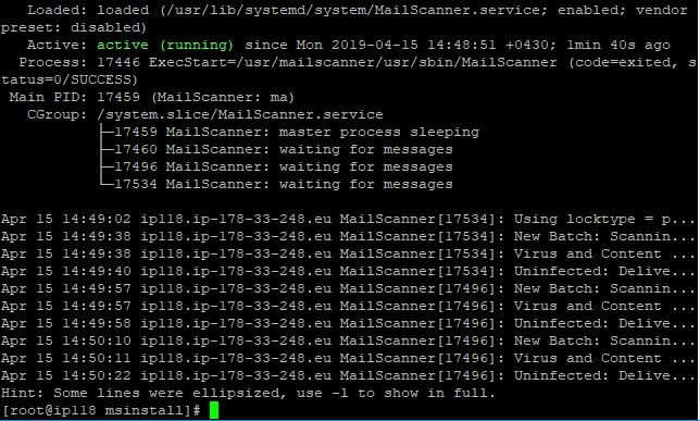Mailscanner
